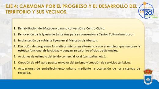 propuestas CARMONA POR EL DESARROLLO